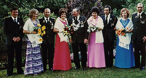Thron 1974/1975: König Karl I. | Schützenverein Hemsen e. V.